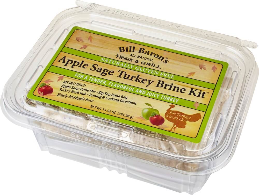 Apple Sage Turkey Brine Kit Home & Grill All-In-One Turkey Brine Kits