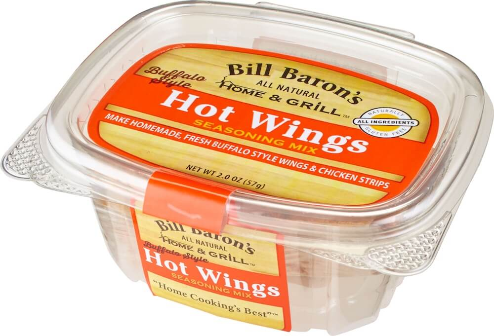 Buffalo Style Home & Grill All Purpose Seasonings Stackable Tubs