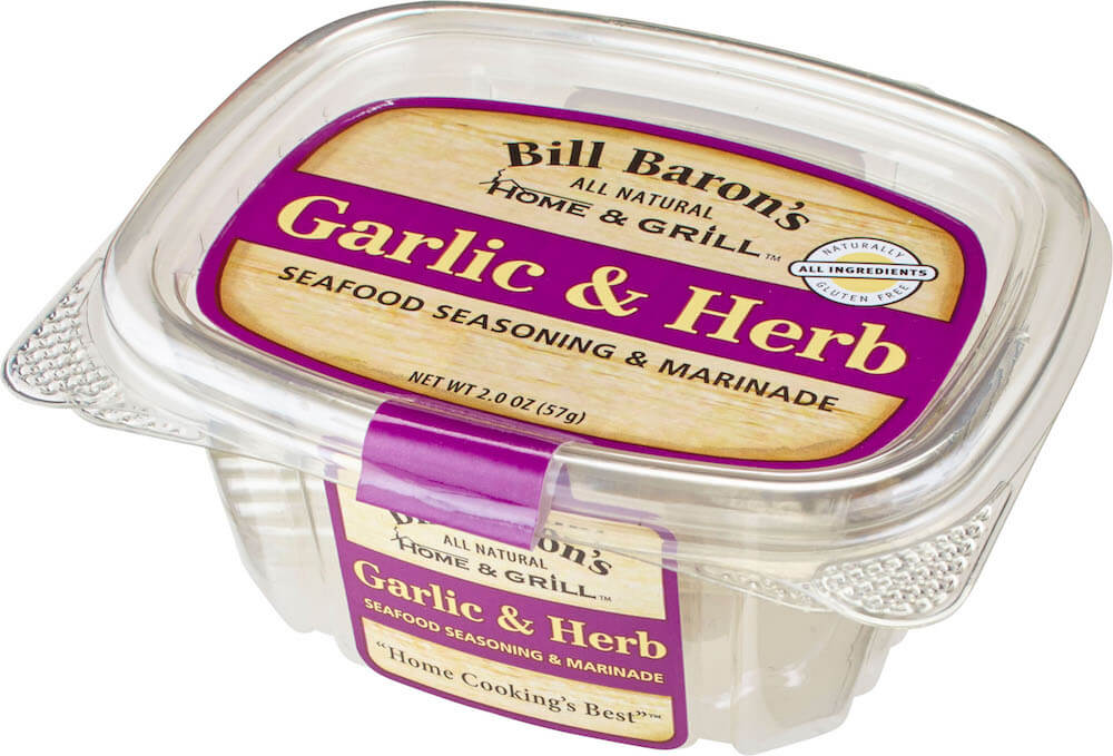 Garlic & Herb Seafood Seasoning & Marinade Home & Grill Seafood Tubs Stackable Tubs