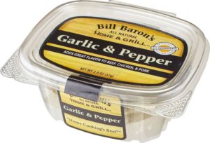Garlic & Pepper Home & Grill All Purpose Seasonings Stackable Tubs