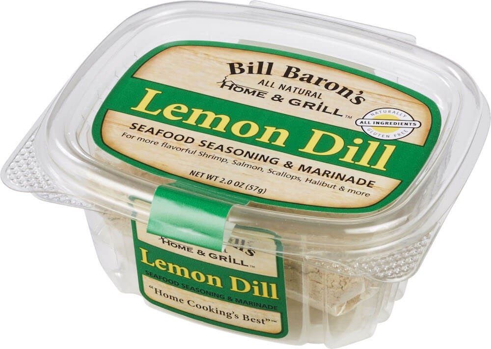 Lemon Dill Seafood Seasoning & Marinade Home & Grill Seafood Tubs Stackable Tubs