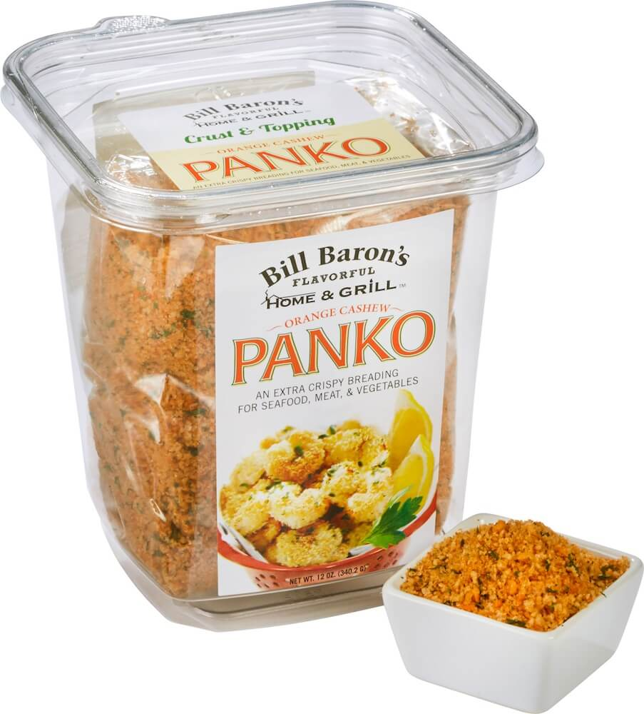 Orange Cashew Panko Home & Grill Stackable Tubs Crust & Topping