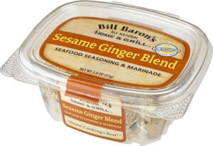 Sesame Ginger Blend (Salt Free) Seafood Seasoning & Marinade Home & Grill Seafood Tubs Stackable Tubs