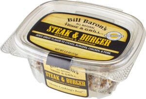 Steak & Burger Home & Grill All Purpose Seasonings Stackable Tubs