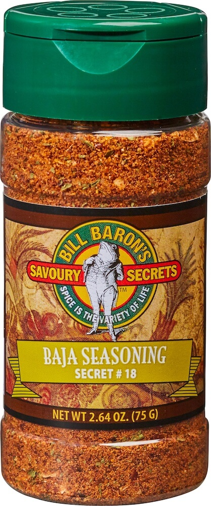 Baja Seasoning /Secret # 18 Savory Secrets All Purpose Seasonings Shakers