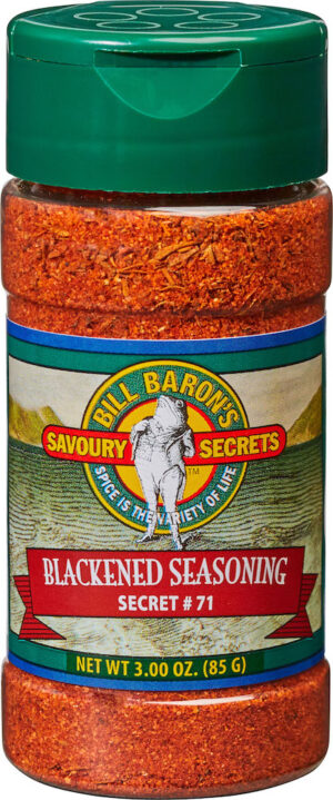Blackened Seasoning Savory Secrets Seafood Seasonings Shakers