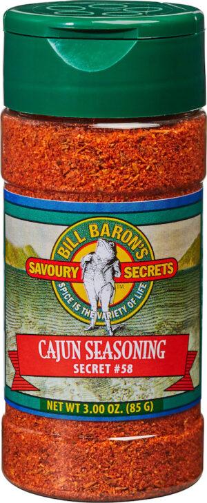 Cajun Seasoning Savory Secrets Seafood Seasonings Shakers