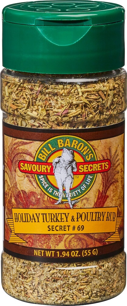 Holiday Turkey & Poultry Rub Savory Secrets All Purpose Seasonings Shakers