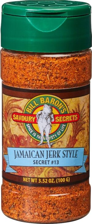 "Jamaican ""Jerk Style"" Savory Secrets All Purpose Seasonings Shakers"