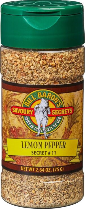 Lemon Pepper Savory Secrets All Purpose Seasonings Shakers