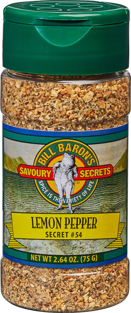Lemon Pepper Savory Secrets Seafood Seasonings Shakers