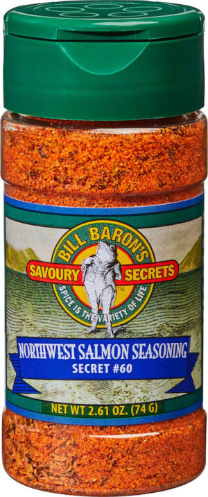 Northwest Salmon Seasoning Savory Secrets Seafood Seasonings Shakers