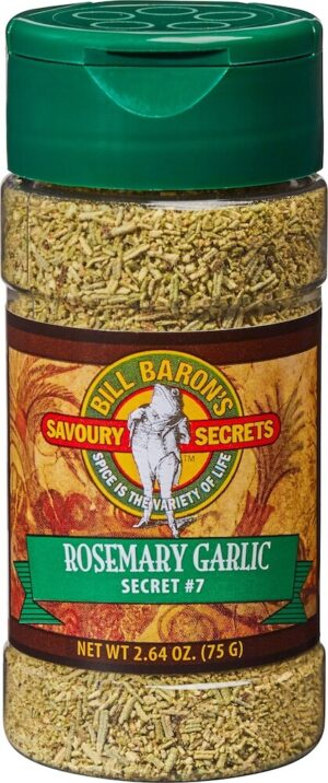 Rosemary Garlic Savory Secrets All Purpose Seasonings Shakers