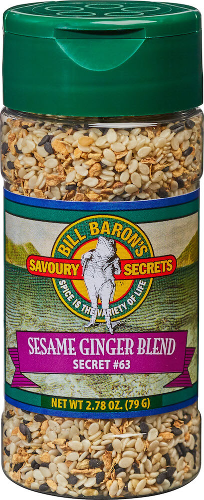 Sesame Ginger Blend  ( Salt Free) Savory Secrets Seafood Seasonings Shakers
