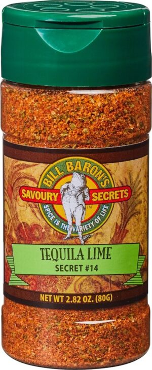 Tequila Lime Seasoning / Secret # 14 Savory Secrets All Purpose Seasonings Shakers