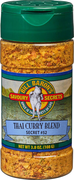 Thai Curry Blend Savory Secrets Seafood Seasonings Shakers
