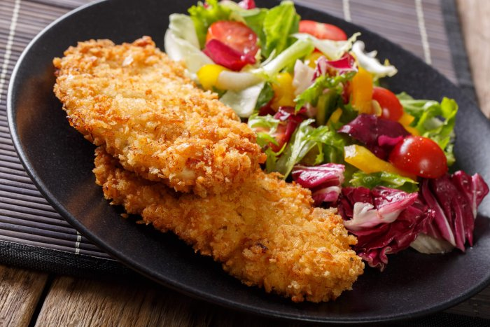 Crunchy Panko Coated Chicken Cutlets post thumbnail