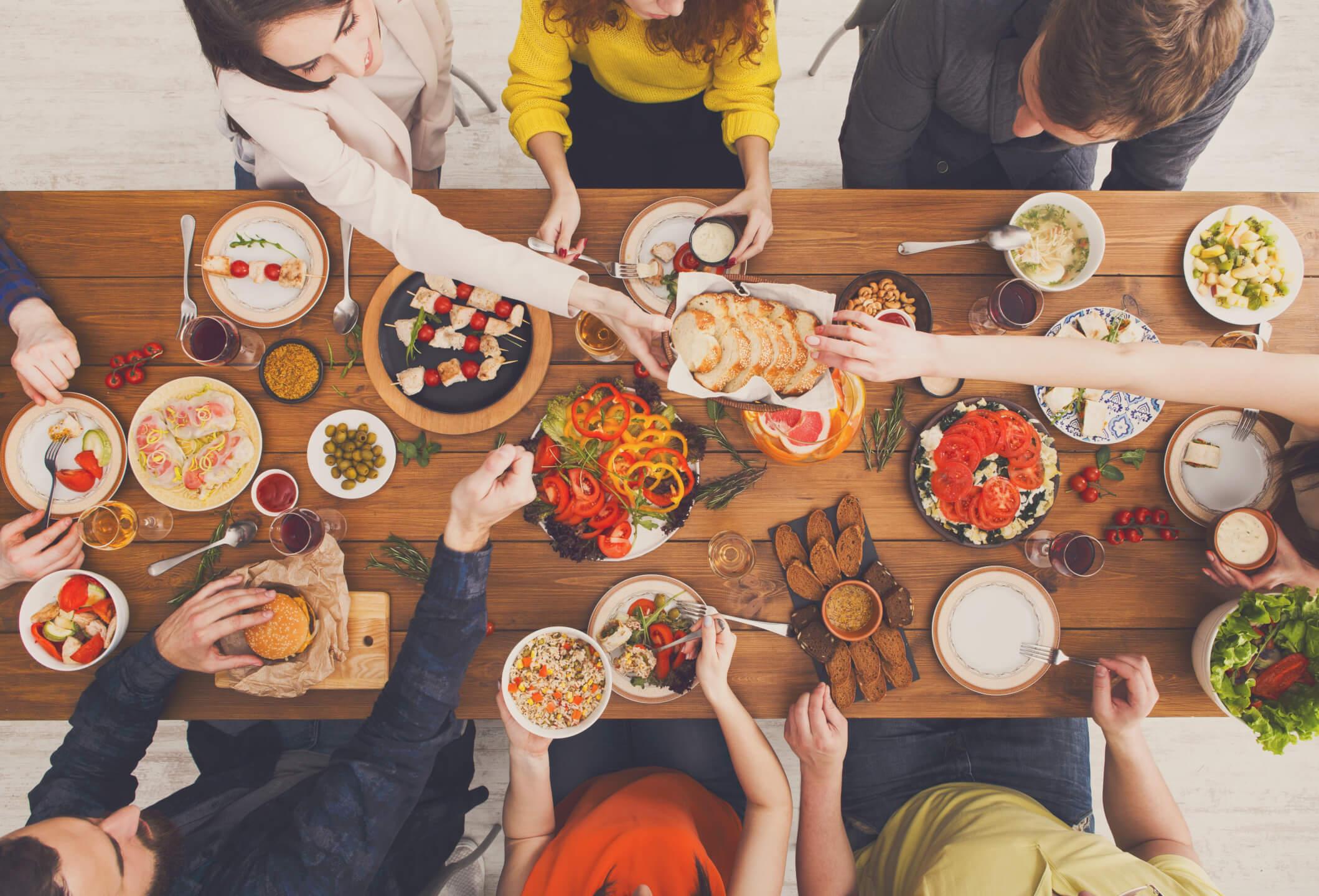 enjoying a meal-min