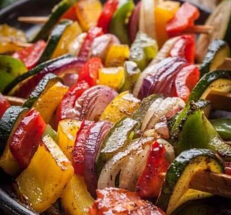 Herb & Garlic Grilled Vegetables post thumbnail