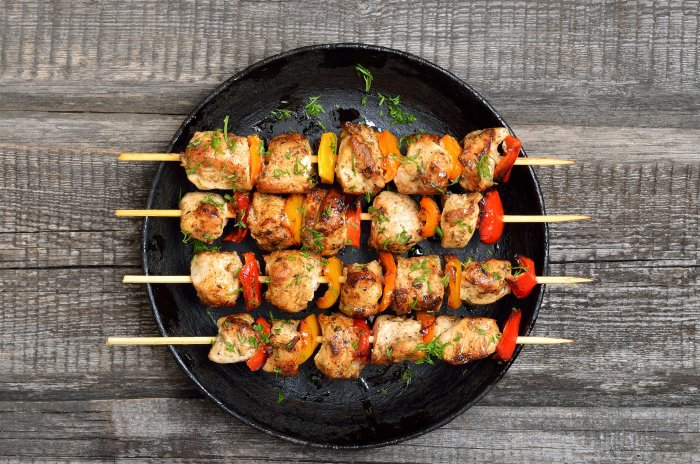 Grilled Rosemary & Garlic Chicken Skewers post thumbnail